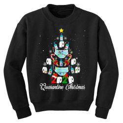 2020 christmas quarantine family matching pajamas xmas Youth Sweatshirt | Artistshot