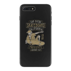 skeleton on the skateboard 5 iPhone 7 Plus Case | Artistshot