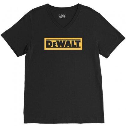 Dewalt V-neck Tee Designed By Henz Art