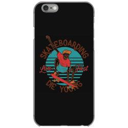 skeleton on the skateboard 8 iPhone 6/6s Case | Artistshot