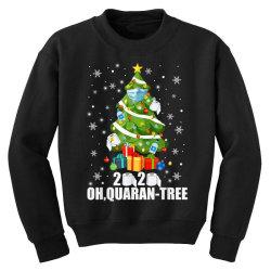 2020 oh quarantine christmas tree Youth Sweatshirt | Artistshot