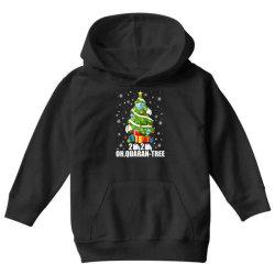 2020 oh quarantine christmas tree Youth Hoodie | Artistshot