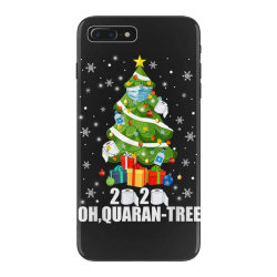 2020 oh quarantine christmas tree iPhone 7 Plus Case   Artistshot