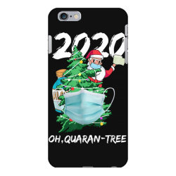 2020 quarantine christmas santa face mask iPhone 6 Plus/6s Plus Case | Artistshot