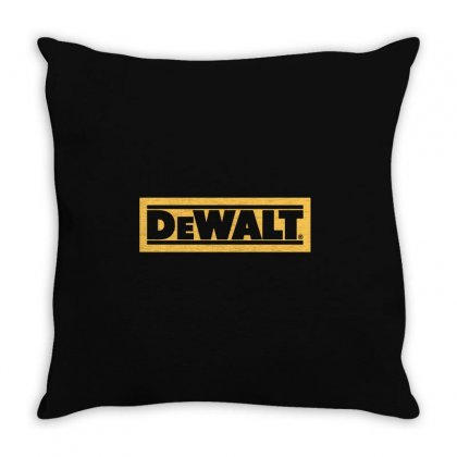 Dewalt Throw Pillow Designed By Henz Art