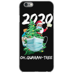 2020 quarantine christmas santa face mask iPhone 6/6s Case | Artistshot