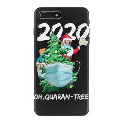2020 quarantine christmas santa face mask iPhone 7 Plus Case | Artistshot