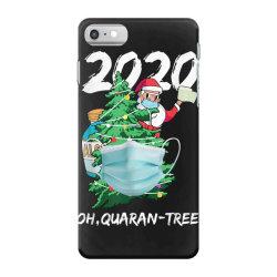 2020 quarantine christmas santa face mask iPhone 7 Case | Artistshot