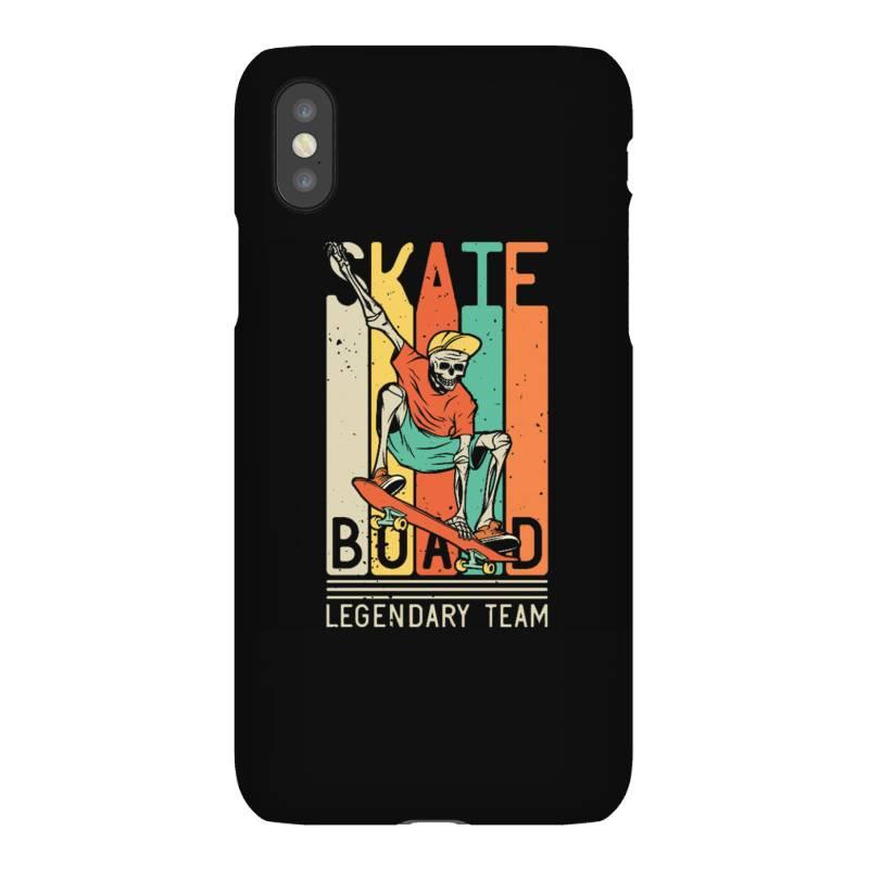 Skeleton On The Skateboard 9 Iphonex Case | Artistshot