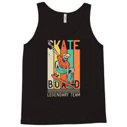 skeleton on the skateboard 9 Tank Top | Artistshot