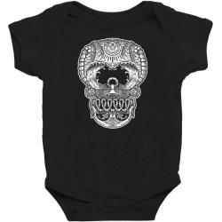skull beach ocean Baby Bodysuit | Artistshot
