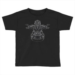 skeleton riding on the motorcycle 4 Toddler T-shirt | Artistshot
