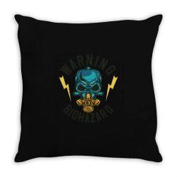 skull at mask Throw Pillow | Artistshot