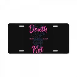 skull beach tropical License Plate   Artistshot