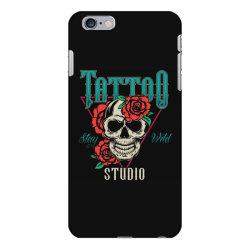 skull and flowers iPhone 6 Plus/6s Plus Case | Artistshot