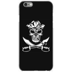 skull and swords iPhone 6/6s Case | Artistshot