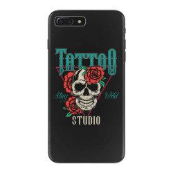 skull and flowers iPhone 7 Plus Case | Artistshot