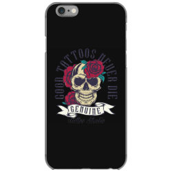 skull and roses iPhone 6/6s Case | Artistshot