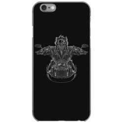 skeleton riding on the motorcycle 4 iPhone 6/6s Case | Artistshot