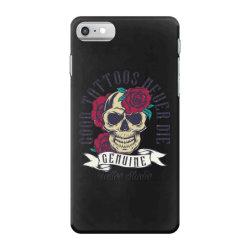 skull and roses iPhone 7 Case | Artistshot