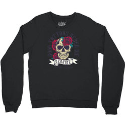 skull and roses Crewneck Sweatshirt | Artistshot