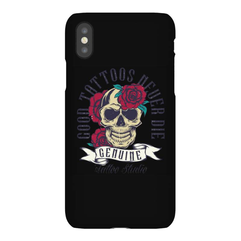 Skull And Roses Iphonex Case | Artistshot