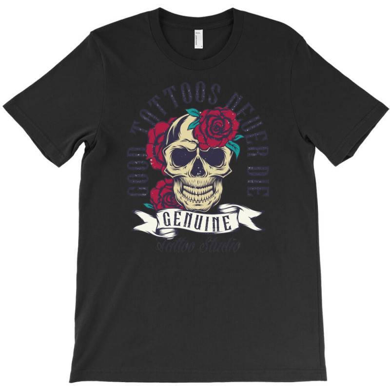 Skull And Roses T-shirt | Artistshot