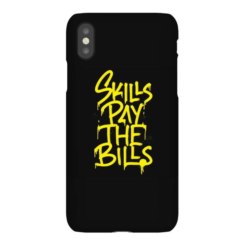 Skills Pay The Bills Iphonex Case   Artistshot