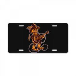 skull cowboy License Plate | Artistshot