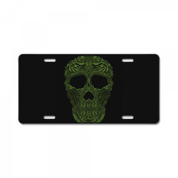 skull forest License Plate | Artistshot