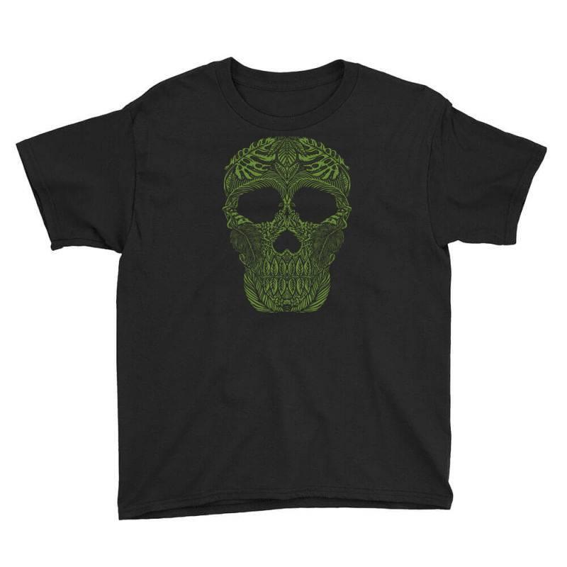 Skull Forest Youth Tee | Artistshot