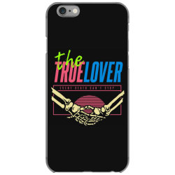 skull couple holding each other iPhone 6/6s Case | Artistshot