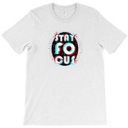 Stay Focus Design Logo T-Shirt | Artistshot