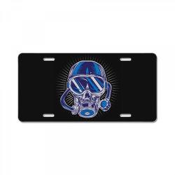 skull diver License Plate | Artistshot