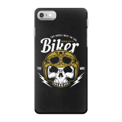 skull biker wear helmet iPhone 7 Case | Artistshot