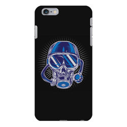 skull diver iPhone 6 Plus/6s Plus Case | Artistshot
