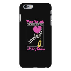 skull hand holding a heart love with price tag on it iPhone 6 Plus/6s Plus Case | Artistshot