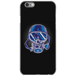 skull diver iPhone 6/6s Case | Artistshot