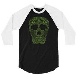 skull forest 3/4 Sleeve Shirt | Artistshot