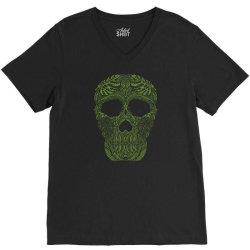 skull forest V-Neck Tee | Artistshot