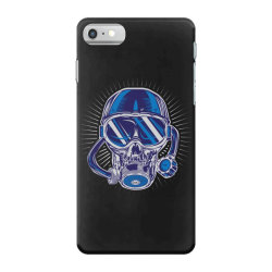 skull diver iPhone 7 Case | Artistshot