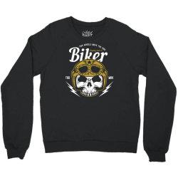 skull biker wear helmet Crewneck Sweatshirt | Artistshot