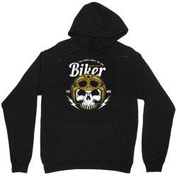 skull biker wear helmet Unisex Hoodie | Artistshot