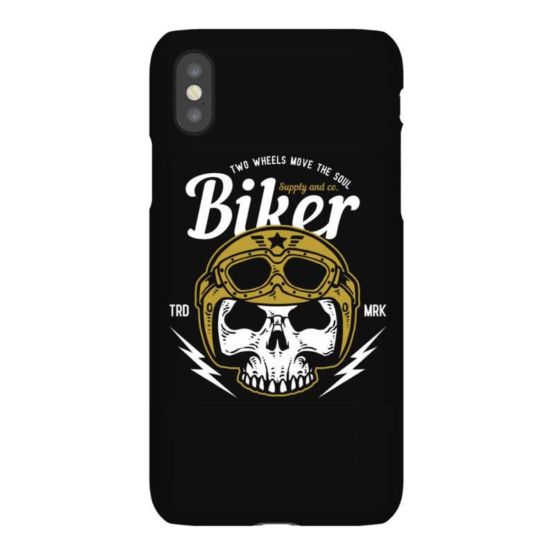 Skull Biker Wear Helmet Iphonex Case   Artistshot