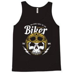 skull biker wear helmet Tank Top | Artistshot