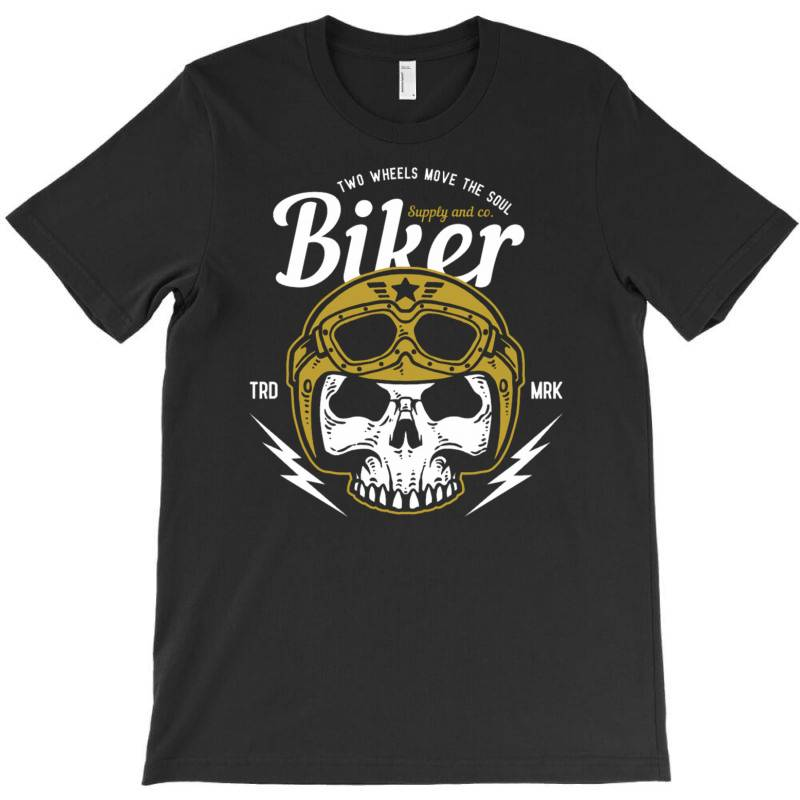 Skull Biker Wear Helmet T-shirt | Artistshot