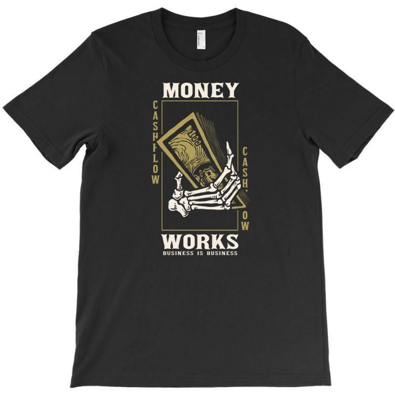 Skull Hand Holding Money T-shirt | Artistshot