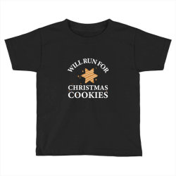 will run for christmas cookies Toddler T-shirt | Artistshot