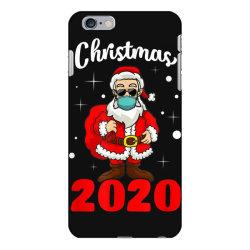 christmas 2020 santa quarantine mask iPhone 6 Plus/6s Plus Case | Artistshot