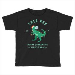 2020 quarantine christmas santa face mask Toddler T-shirt | Artistshot